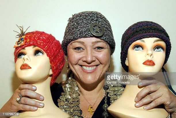 Camryn Manheim at Zola Hats during 2007 Park City Luxury Lounge Day 3 at Media Placement Luxury Lounge in Utah United States