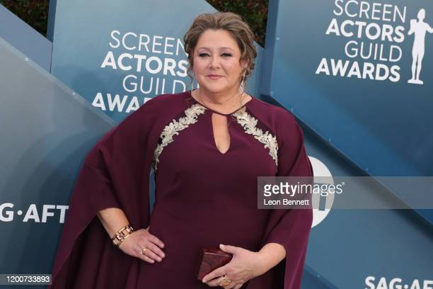 Camryn Manheim attends 26th Annual Screen Actors Guild Awards at The Shrine Auditorium on January 19, 2020 in Los Angeles, California.