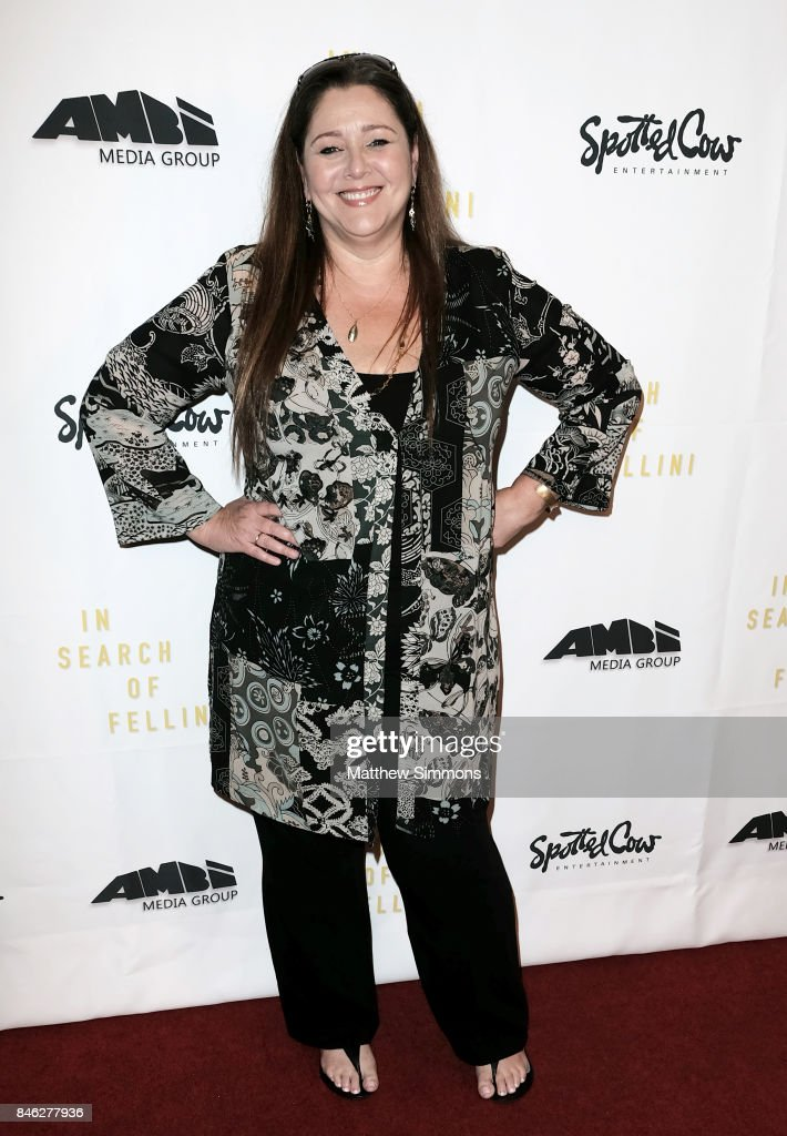 Camryn Manheim attends a screening of 'In Search Of Fellini' at Laemmle Monica Film Center on September 12, 2017 in Santa Monica, California.