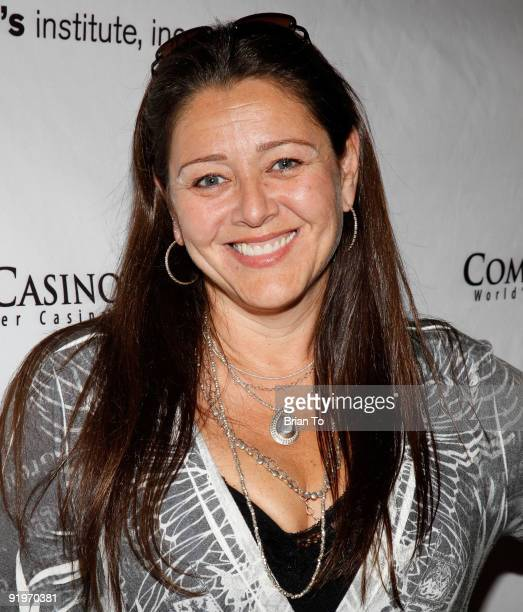 Camryn Manheim attends Children's Institute Hosts 'Poker For A Cause' Celebrity Poker Tournament at Commerce Casino on October 17 2009 in City of...