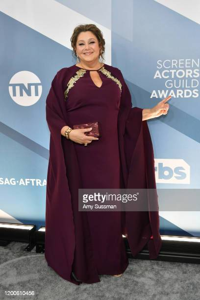 Camryn Manheim attends the 26th Annual Screen Actors Guild Awards at The Shrine Auditorium on January 19, 2020 in Los Angeles, California.