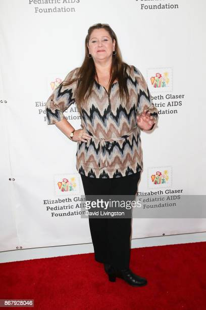 Camryn Manheim attends the Elizabeth Glaser Pediatric AIDS Foundation's 28th Annual 'A Time For Heroes' Family Festival at Smashbox Studios on...