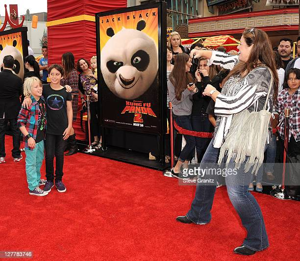 """Camryn Manheim attends the Los Angeles premiere of """"Kung Fu Panda 2"""" at Grauman's Chinese Theatre on May 22, 2011 in Hollywood, California."""
