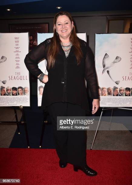Camryn Manheim attends the premiere of Sony Pictures Classics' The Seagull at The Writers Guild Theater on May 1 2018 in Beverly Hills California