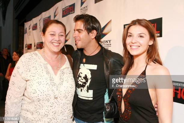 Camryn Manheim, Director Eli Roth and Barbara Nedeljakova