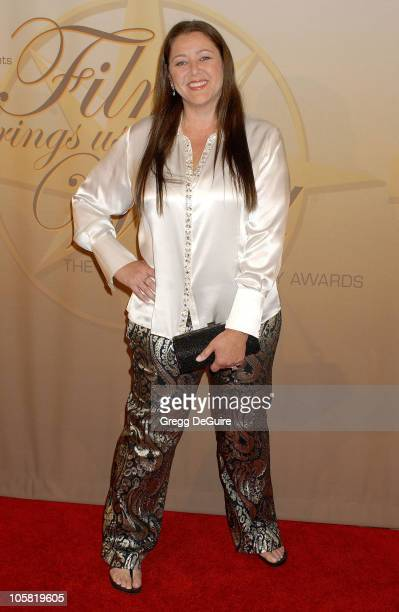 Camryn Manheim during 2006 Women In Film Crystal + Lucy Awards - Arrivals at Century Plaza Hotel in Century City, California, United States.