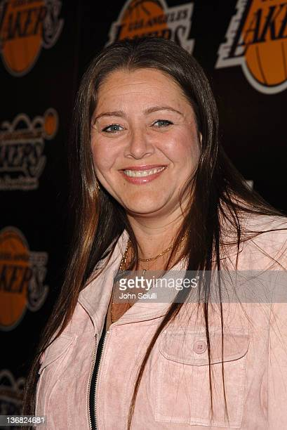 Camryn Manheim during 2nd Annual Lakers Casino Night Benefiting the Lakers Youth Foundation Red Carpet and Inside at Barker Hanger in Santa Monica...