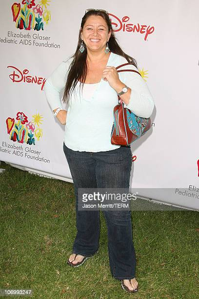 "Camryn Manheim during ""A Time for Heroes"" Carnival Hosted By Disney - Arrivals at Wadsworth Theater in Westwood, California, United States."