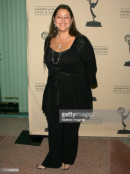 Camryn Manheim during Academy of Television Arts Sciences An Evening with Boston Legal at Leonard H Goldenson Theater in North Hollywood California...