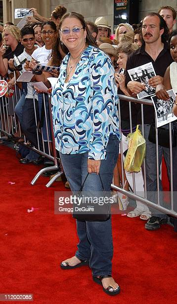 """Camryn Manheim during """"American Idol"""" Season 1 Finale - Results Show - Arrivals at Kodak Theater in Hollywood, California, United States."""