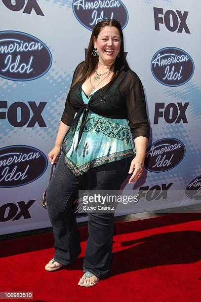 Camryn Manheim during American Idol Season 5 Finale Arrivals at Kodak Theater in Hollywood California United States