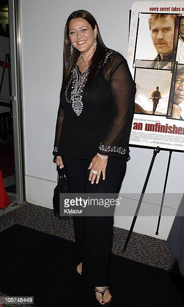 Camryn Manheim during An Unfinished Life New York City Premiere Inside Arrivals at Directors Guild of America Theater in New York City New York...