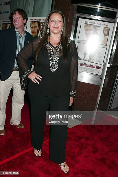 Camryn Manheim during An Unfinished Life New York City Premiere at Directors Guild of America Theater in New York City New York United States
