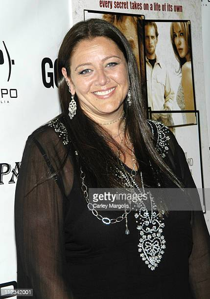 Camryn Manheim during ''An Unfinished Life'' New York Premiere After Party at Megu in New York City New York United States