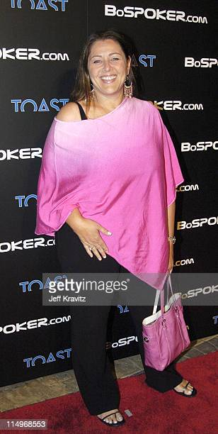 Camryn Manheim during BosPoker.com $100,000 Celebrity Poker Tournament 2004 at Private Residence in Beverly Hills, California, United States.