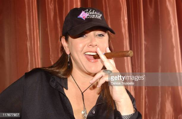 Camryn Manheim during Bravo's Celebrity Poker Showdown Talent Gift Lounge Produced by On 3 Productions Day 1 at The Palms Hotel and Casino in Las...