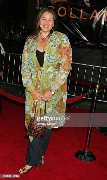 Camryn Manheim during Collateral Los Angeles Premiere Arrivals at Orpheum Theatre in Los Angeles California United States