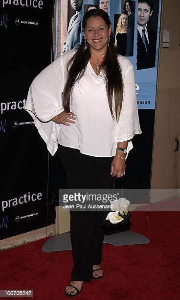 """Camryn Manheim during David Kelley and The Cast of ABC's Hit Drama """"The Practice"""" Celebrate The Launch of Their Eight Season at Buffalo Club in Santa..."""