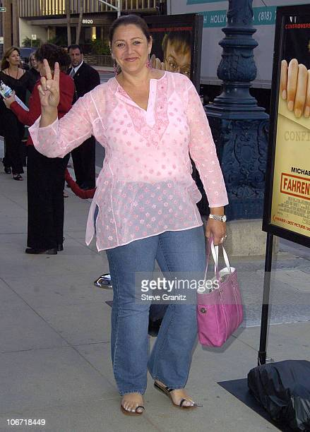 "Camryn Manheim during ""Fahrenheit 9/11"" Special Screening's at AMPAS and Music Hall Theatre - Arrivals at Academy Theatre and Music Hall Theatre in..."