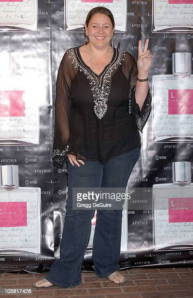 """Camryn Manheim during Launch of """"L Eau de Parfum"""" Inspired by Showtime's """"The L Word"""" - Arrivals at Apothia at Fred Segal Melrose in Los Angeles,..."""