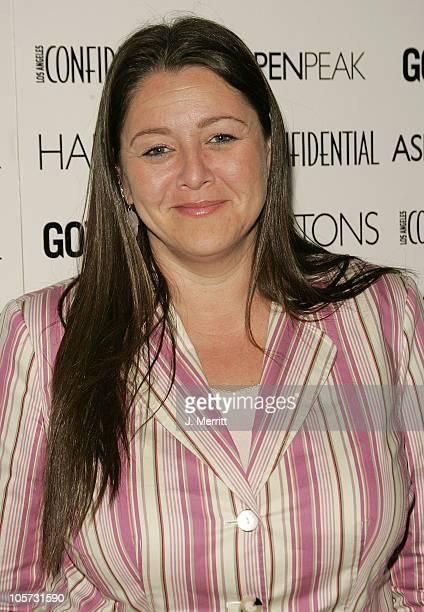 Camryn Manheim during Los Angeles Confidential Celebrates Gotham Magazine Cover Star Debra Messing at The Maple Drive Atrium in Beverly Hills...