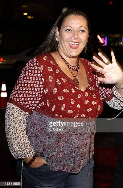 "Camryn Manheim during Melissa Etheridge ""Live and Alone "" Movie Premiere at The Egyptian Theater in Hollywood, California, United States."
