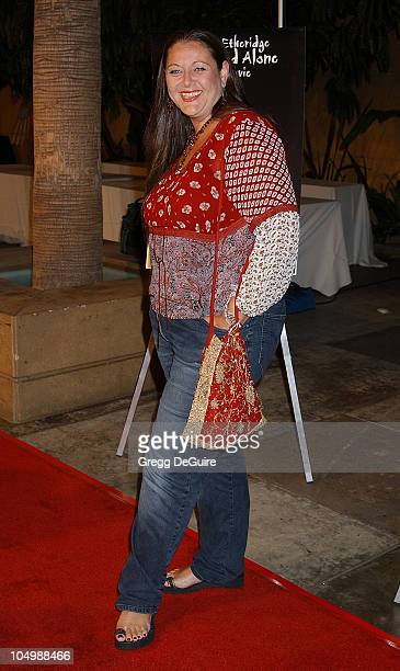 """Camryn Manheim during Melissa Etheridge """"Live...and Alone"""" The Movie - Arrivals at Egyptian Theatre in Hollywood, California, United States."""
