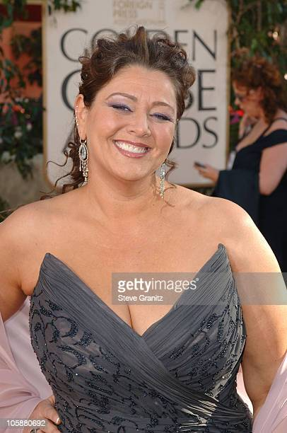 Camryn Manheim during The 63rd Annual Golden Globe Awards Arrivals at Beverly Hilton Hotel in Beverly Hills California United States