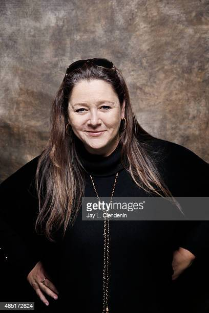 Camryn Manheim from the film 'Cop Car' is photographed for Los Angeles Times at the 2015 Sundance Film Festival on January 24 2015 in Park City Utah...