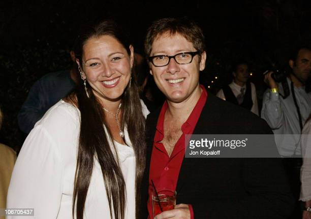 Camryn Manheim James Spader during David E Kelley and the cast of ABC's hit drama 'The Practice' celebrate the launch of their eighth season at The...