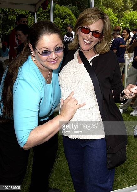 Camryn Manheim Marlee Matlin during Target 'A Time For Heroes' To Benefit The Elizabeth Glaser Pediatric AIDS Foundation at Mandeville Canyon Park in...