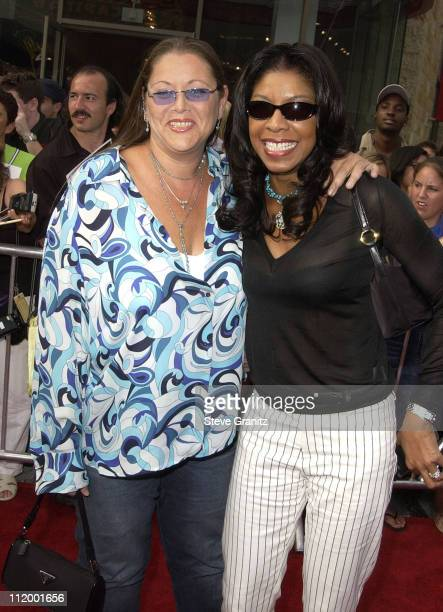 """Camryn Manheim & Natalie Cole during """"American Idol"""" Season 1 Finale - Results Show - Arrivals at Kodak Theater in Hollywood, California, United..."""