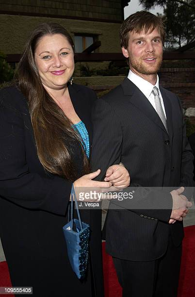 Camryn Manheim Peter Krause during 3rd Annual Project ALS Spring Benefit Gala Dinner Sponsored by InStyle Arrivals at The Lodge at Torrey Pines in La...