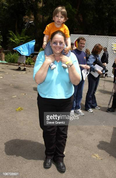 Camryn Manheim son during Target A Time For Heroes To Benefit The Elizabeth Glaser Pediatric AIDS Foundation at Mandeville Canyon Park in Los Angeles...