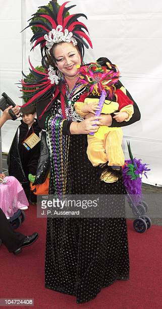 Camryn Manheim Son Milo during 8th Annual Dream Halloween to Benefit Children Affected by Aids Foundation at Santa Monica Airport in Santa Monica...