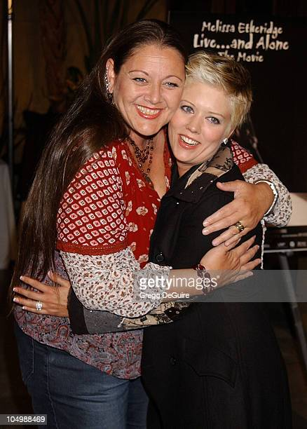 """Camryn Manheim & Tammy Lynn Michaels during Melissa Etheridge """"Live...and Alone"""" The Movie - Arrivals at Egyptian Theatre in Hollywood, California,..."""