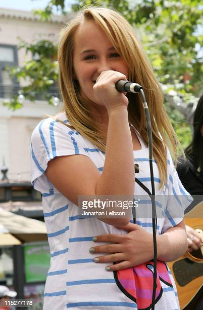 """Camryn performs her songs from the """"Judy Moody And The Not Bummer Summer"""" soundtrack at The Grove on June 5, 2011 in Los Angeles, California."""