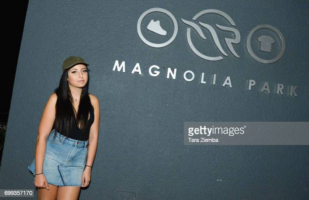 Camryn Rose attends Greg Marks 'Letting Go' single release party at Magnolia Park on June 20 2017 in Burbank California