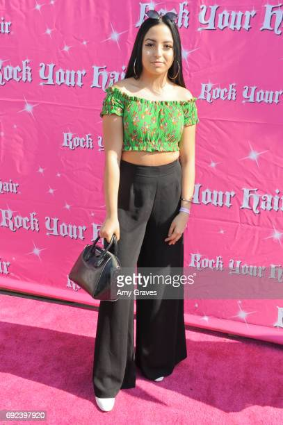Camryn Rose attends Rock Your Hair Presents 'Rock Your Summer' Party and Concert on June 3 2017 in Los Angeles California