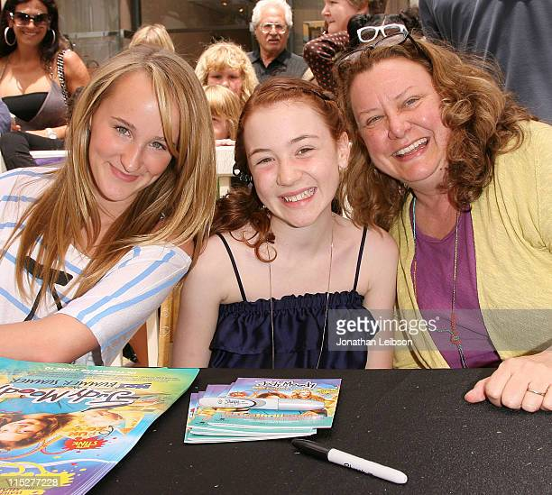 """Camryn,Jordana Beatty and Megan McDonald attend Camryn performing her songs from the """"Judy Moody And The Not Bummer Summer"""" soundtrack at The Grove..."""