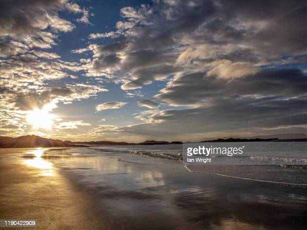 camusdarach - moment of silence stock pictures, royalty-free photos & images