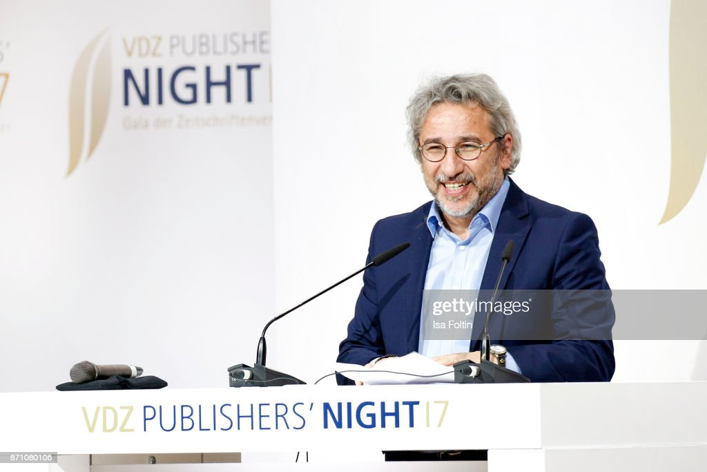 Can Duendar during the VDZ Publishers' Night at Deutsche Telekom's representative office on November 6, 2017 in Berlin, Germany.