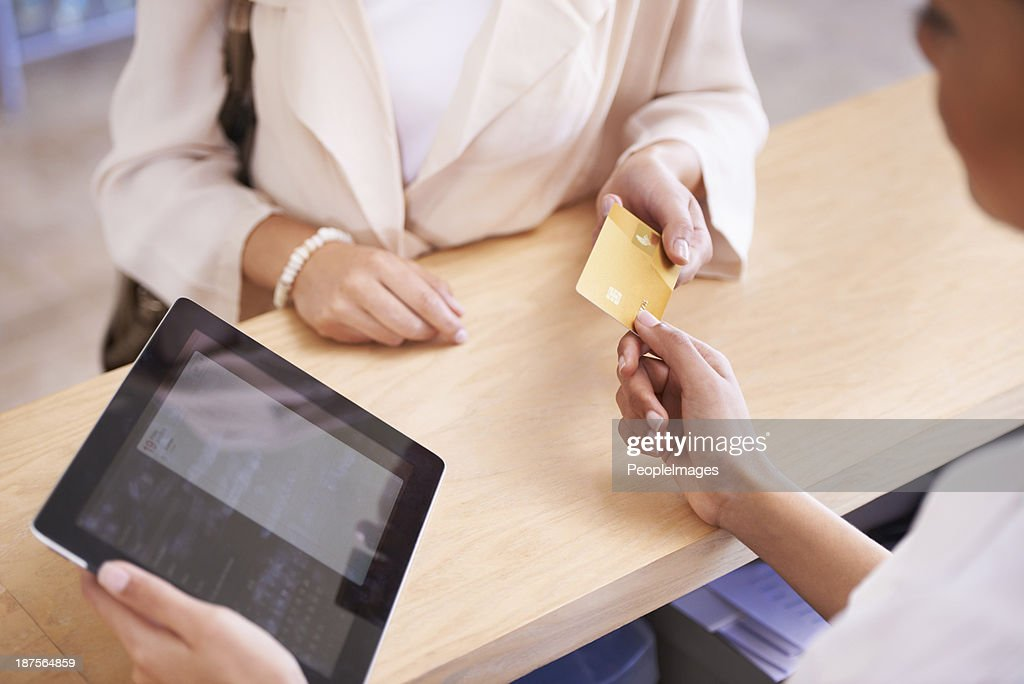 Can I pay with this? : Stock Photo