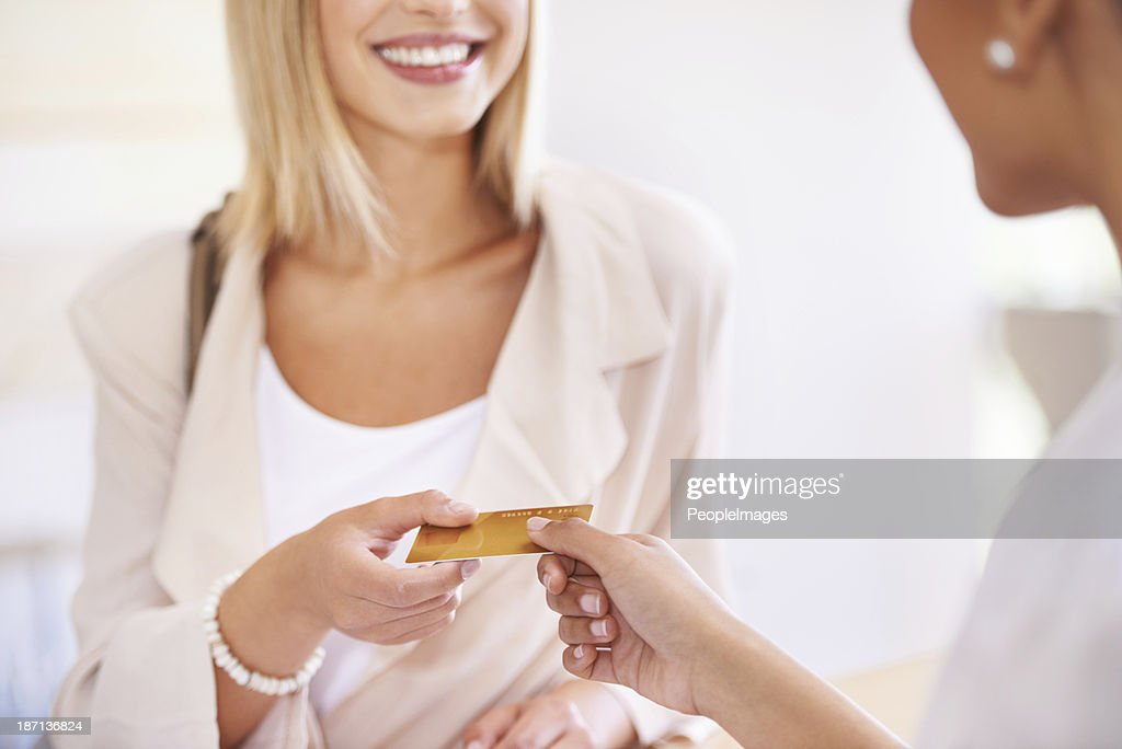 Can I use debit? : Stock Photo
