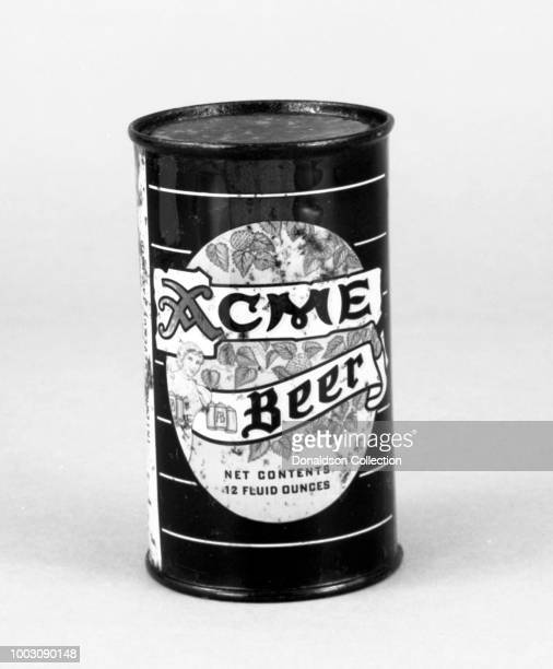 A can of Acme Beer from circa 1955