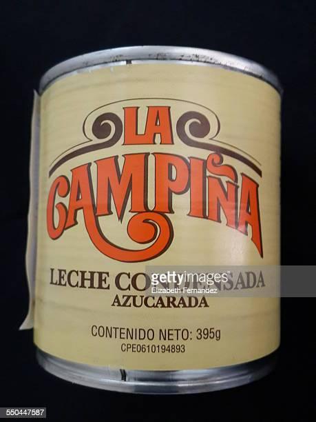 A can of La Campiña Sweetened Condensed Milk