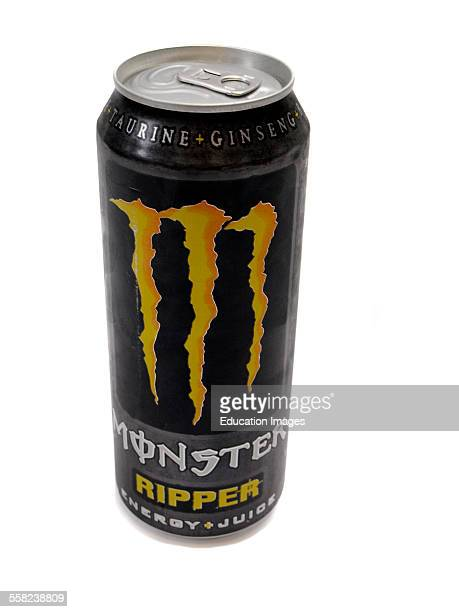 Can of Monster Ripper energy drink