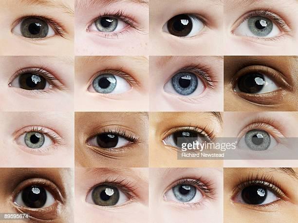 i can see you - menselijk oog stockfoto's en -beelden