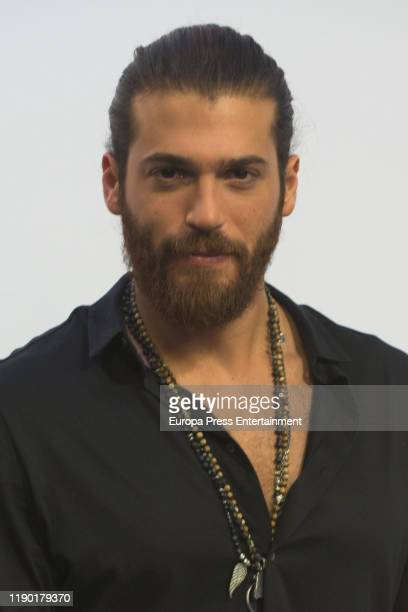 Can Yaman attends 'Volverte a ver' photocall on November 26 2019 in Madrid Spain