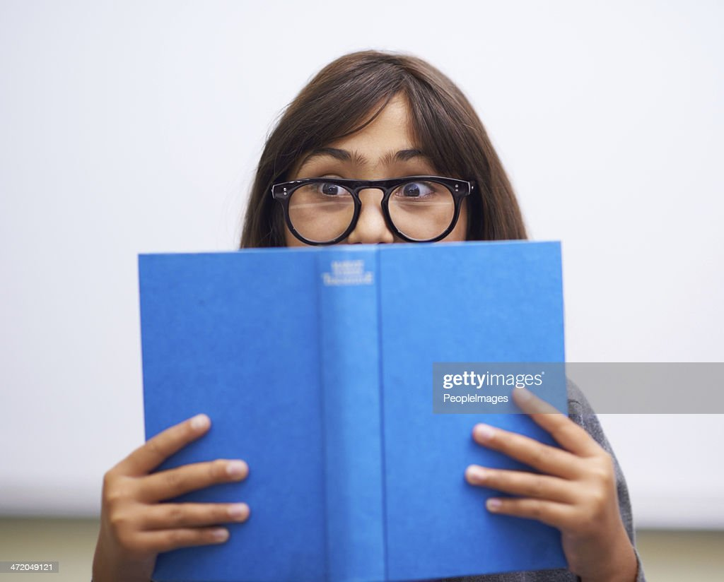 Can you believe what happens next! : Stock Photo